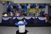 Discoteca Toalha (azul)